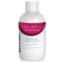 Jimmyjane Feel Sexy Personal Lubricant Silicone 2oz Silicone Lubricant