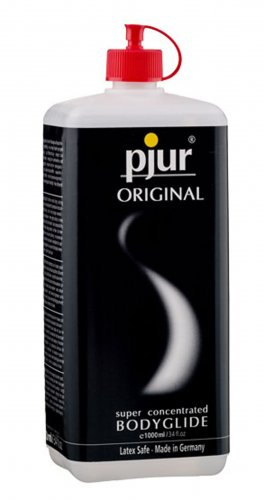Pjur Original- 1000 ml Personal Lubricants, Silicone Based Lube