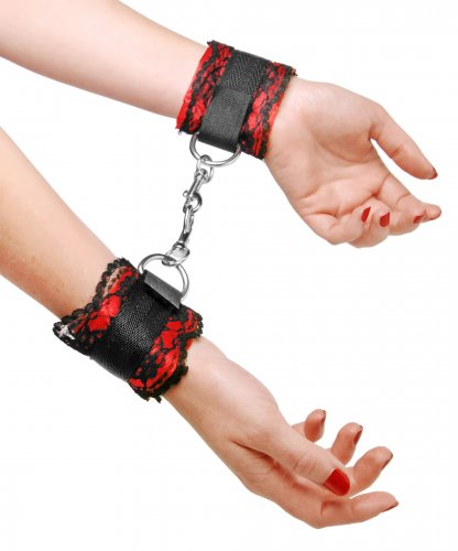 Seductive Desires Restraint Cuffs Beginner Bondage, Ankle and Wrist Restraints, Couples Play