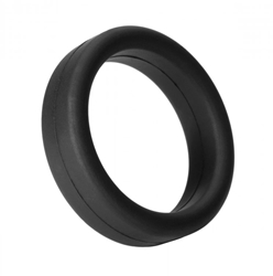 Tantus Super Soft C-Ring- Black Cock Rings, Silicone Toys