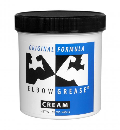 Elbow Grease Original Cream- 15 oz Personal Lubricants, Oil Based Lubes, Creams and Lotions