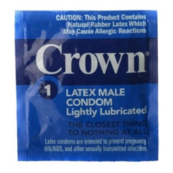 Crown Condoms 24 pack monthly subscription  Condoms
