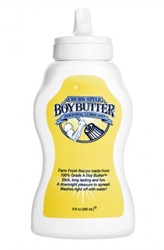 Boy Butter 9oz Squeeze Bottle Personal Lubricants, Anal Lube, Silicone Based Lube
